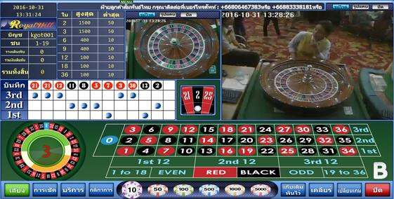 genitng roulette online